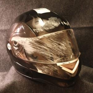 Scratched-Helmet
