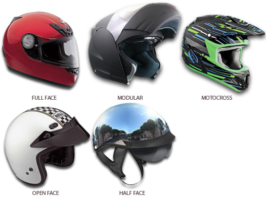 Types-of-Motorcycle-Helmets